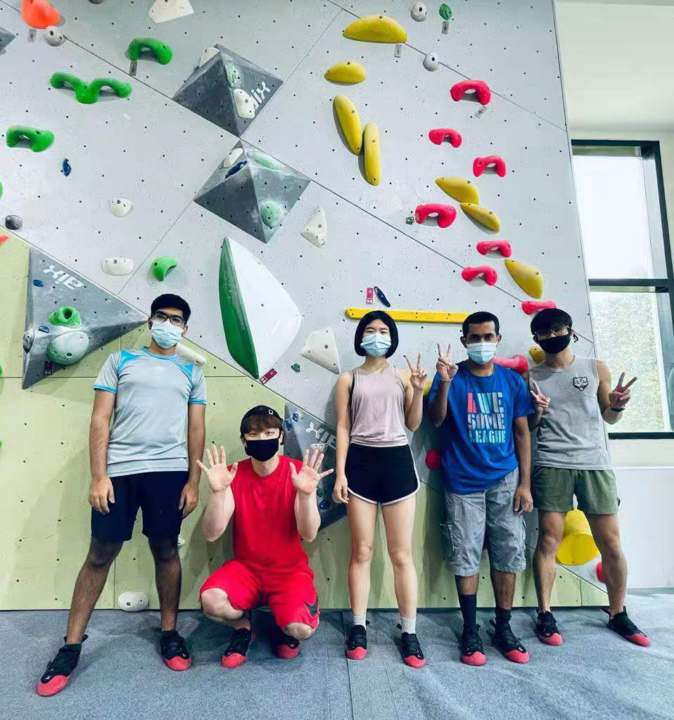 NUS-HCI Goes Rock Climbing
